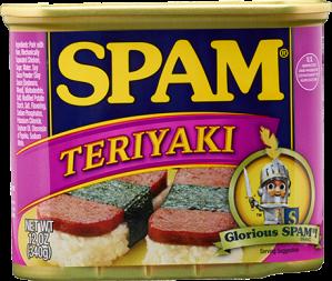 Spam-Teriyaki