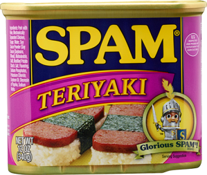 Spam-Teriyaki