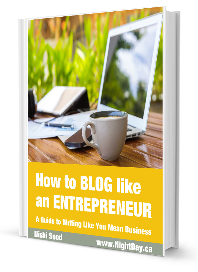 How to Blog Like An Entrepreneur eBook