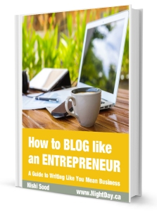 How to Blog Like An Entrepreneur eBook